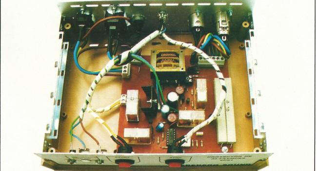MONTAJE / Protector electrónico de cajas acústicas