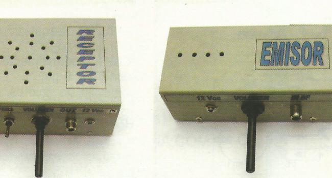 MONTAJE / Emisor y receptor para radiodifusión en FM a 433,75 Mhz