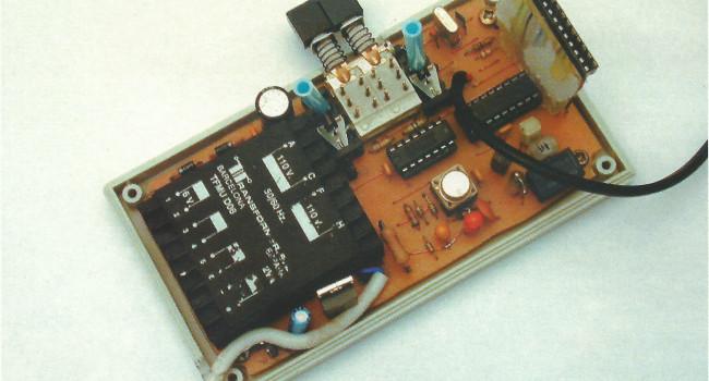 MONTAJE / Medidor de capacidades inductarias