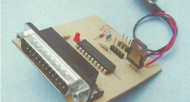MONTAJE / Programador de microcontroladores AVR en sistema o ISP