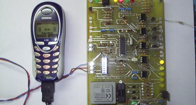 MONTAJE / Alarma GSM