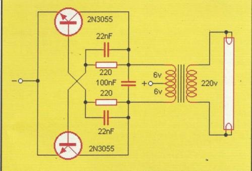APRENDE PRACTICANDO / Fluorescente  a 12V