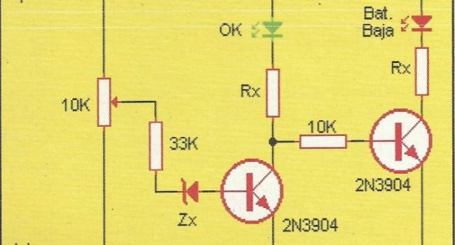 APRENDE PRACTICANDO / Indicador de carga para las pilas