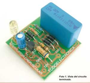 APRENDE PRACTICANDO / Interruptor Crepuscular
