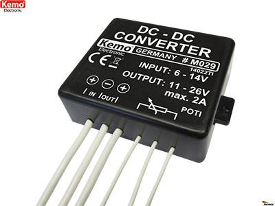 MODULOS / Transformador de corriente directa