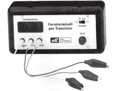 Localizar los Terminales E-B-C de un Transistor