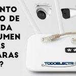 ¿Cuánto ancho de banda consume una cámara de vigilancia IP?